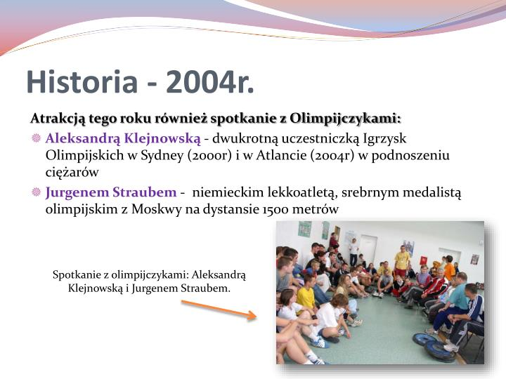 Historia - 2004r.
