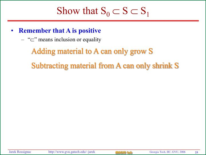 Remember that A is positive
