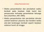 askep postnatal care1