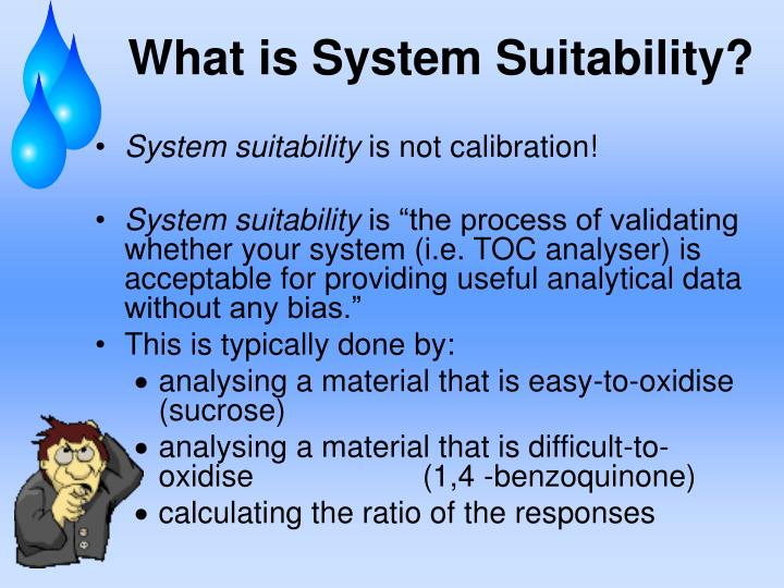 What is System Suitability?