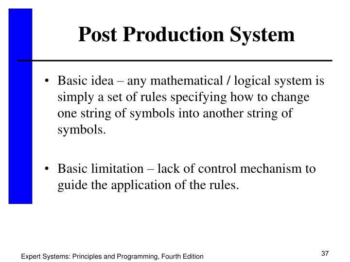Post Production System