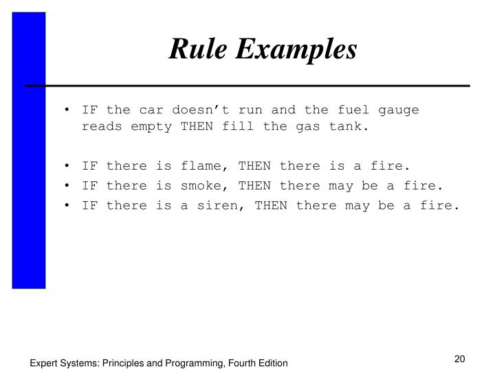 Rule Examples