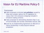 vision for eu maritime policy 5