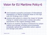 vision for eu maritime policy 6