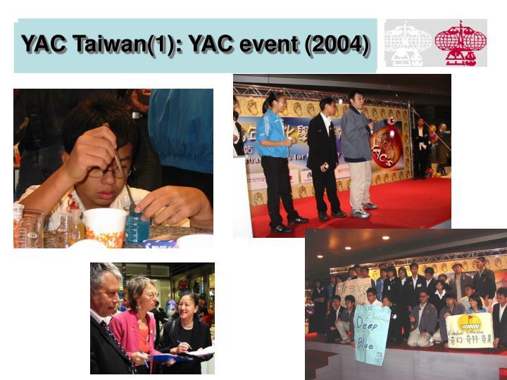 YAC Taiwan(1): YAC event (2004)