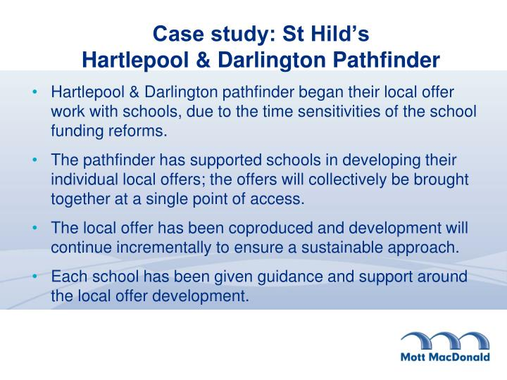 Case study: St Hild's