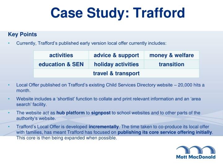 Case Study: Trafford
