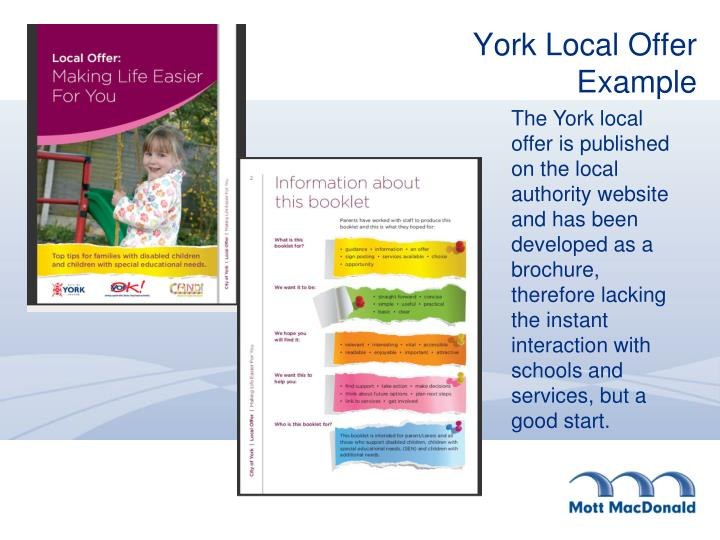 York Local Offer