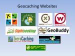 geocaching websites