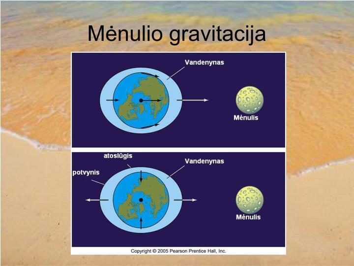 Mėnulio gravitacija