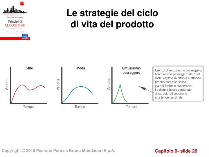 Le strategie del ciclo