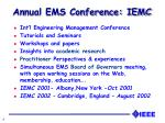 annual ems conference iemc