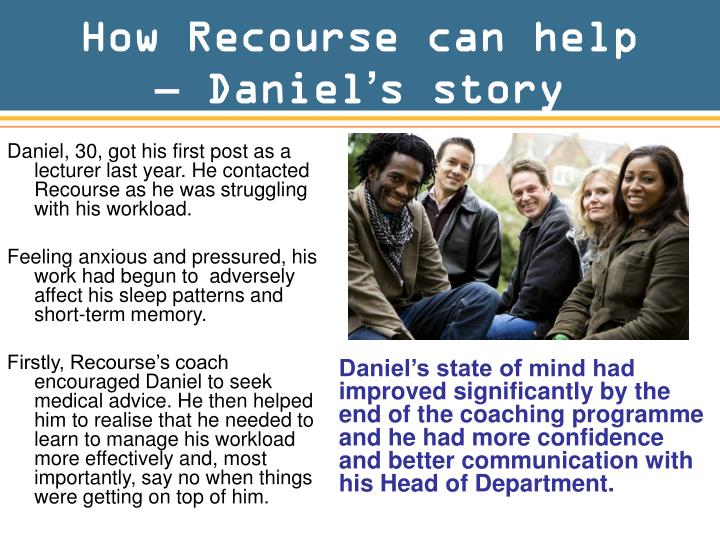 How Recourse can help