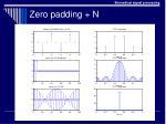 zero padding n
