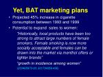 yet bat marketing plans1