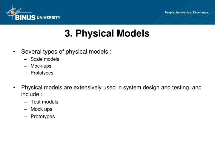 3. Physical Models