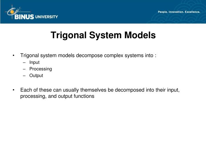 Trigonal System Models