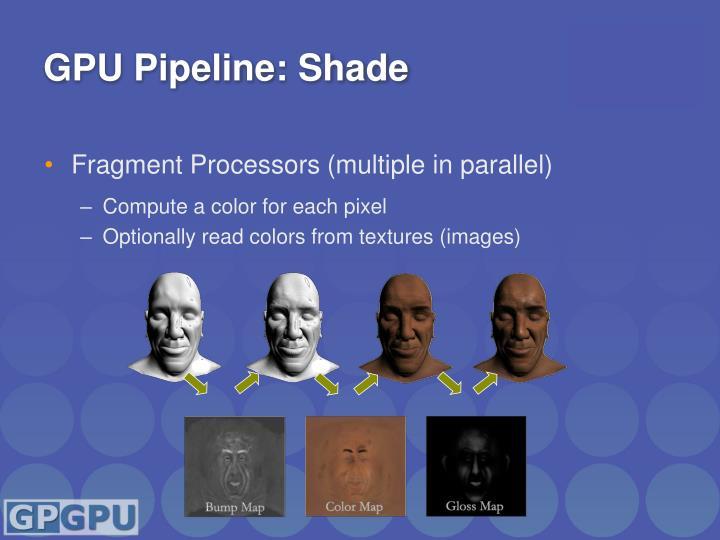 GPU Pipeline: Shade