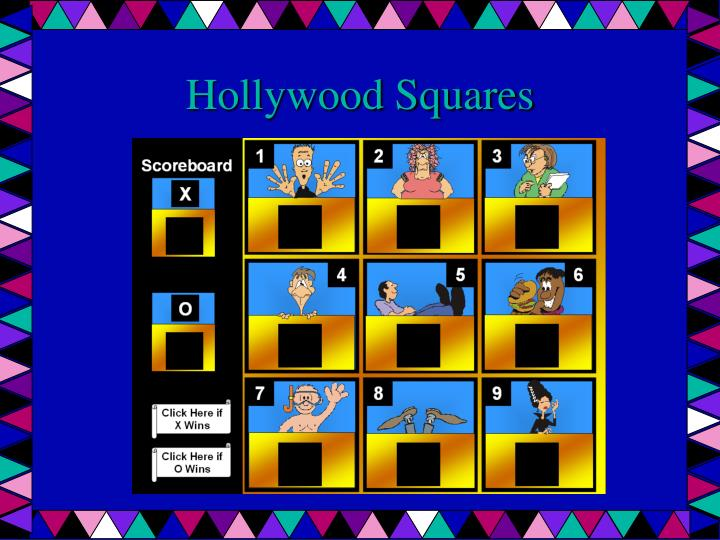 Hollywood Squares