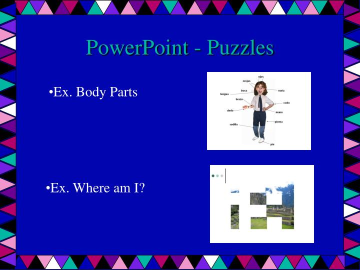 PowerPoint - Puzzles