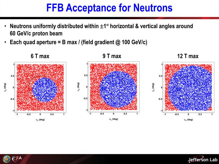 FFB Acceptance for Neutrons