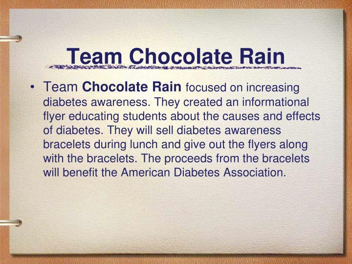 Team Chocolate Rain