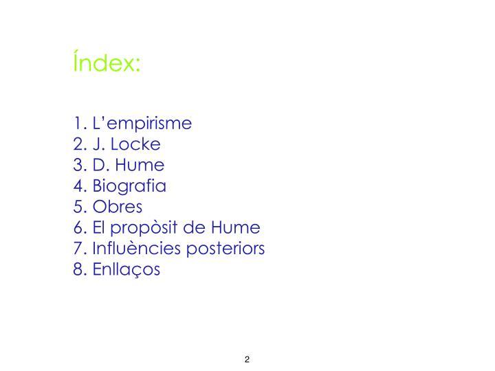 Índex: