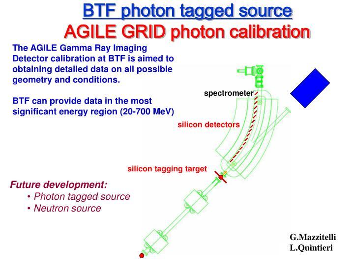 BTF photon tagged source