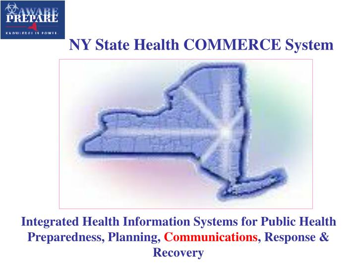 NY State Health COMMERCE System