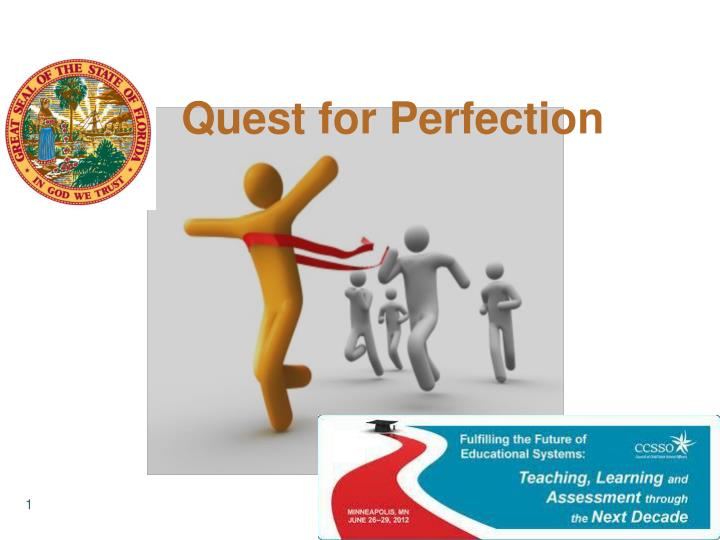 quest for perfection n.