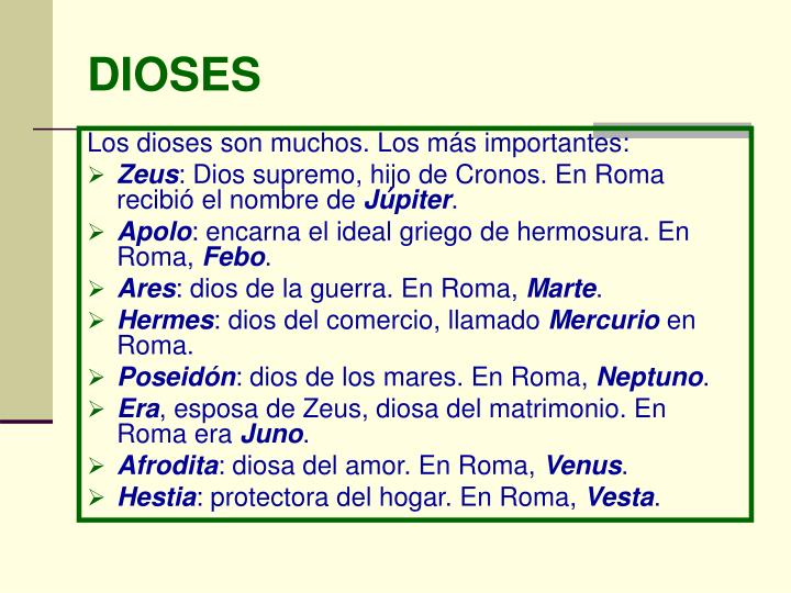 DIOSES
