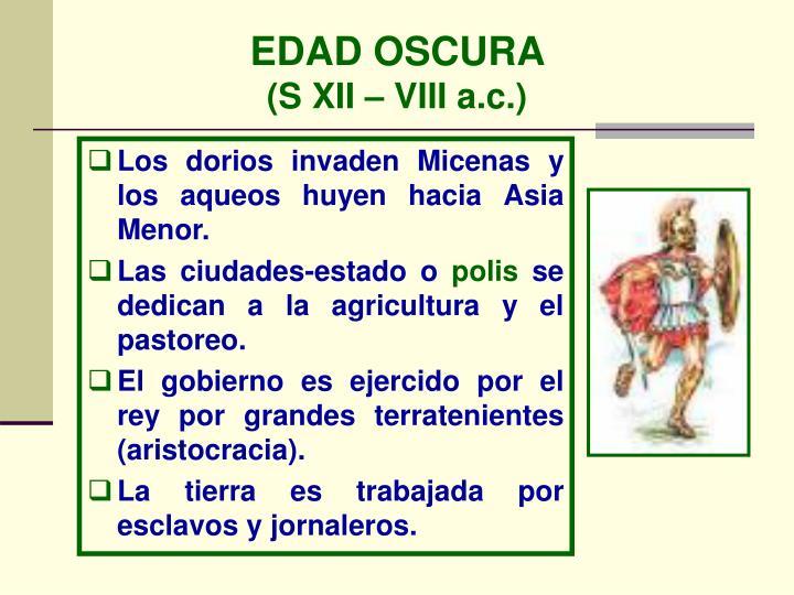 EDAD OSCURA