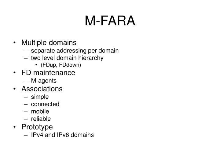 M-FARA