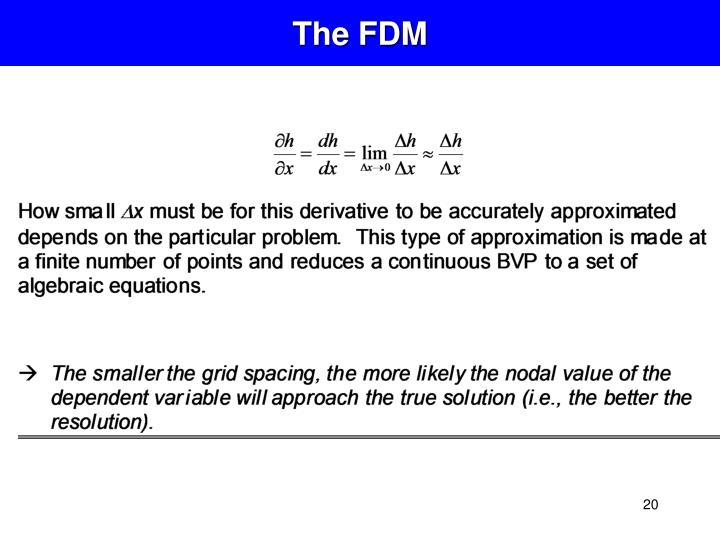 The FDM