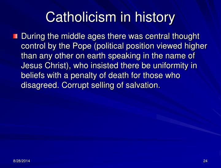 Catholicism in history