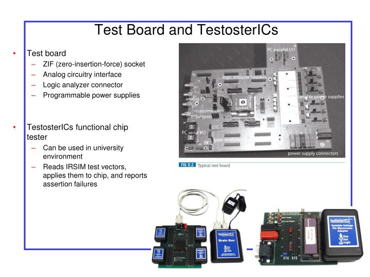 Test Board and TestosterICs