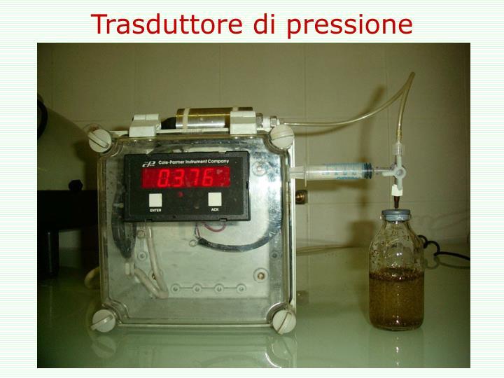 Trasduttore di pressione