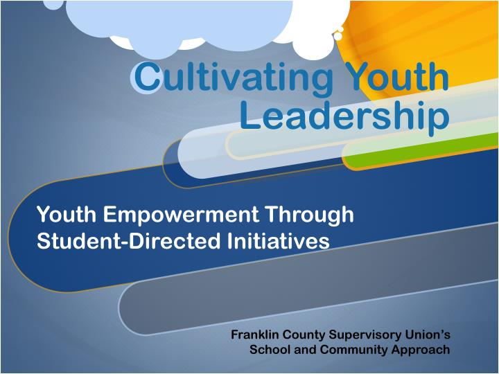 cultivating youth leadership n.