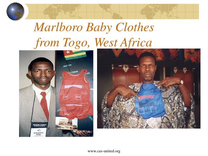 Marlboro Baby Clothes