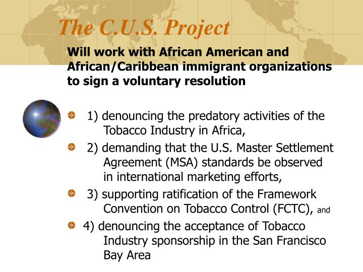 The C.U.S. Project