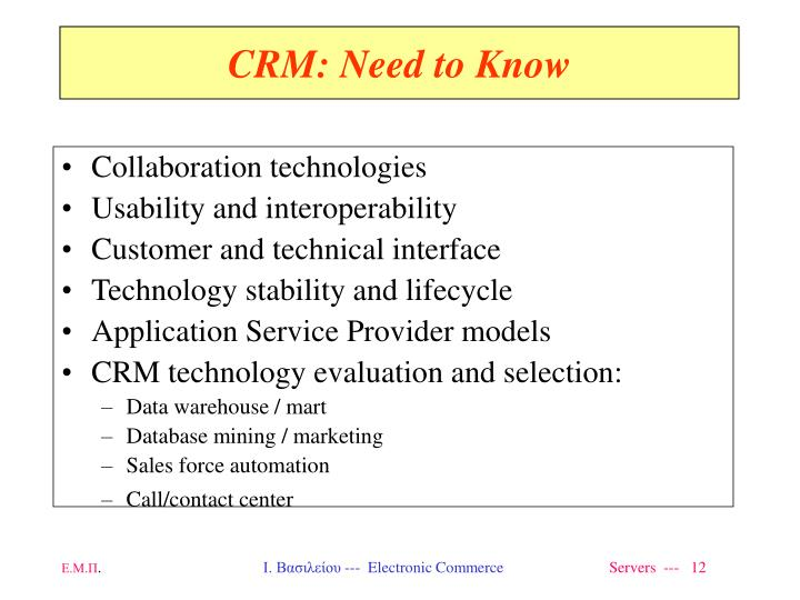 Collaboration technologies