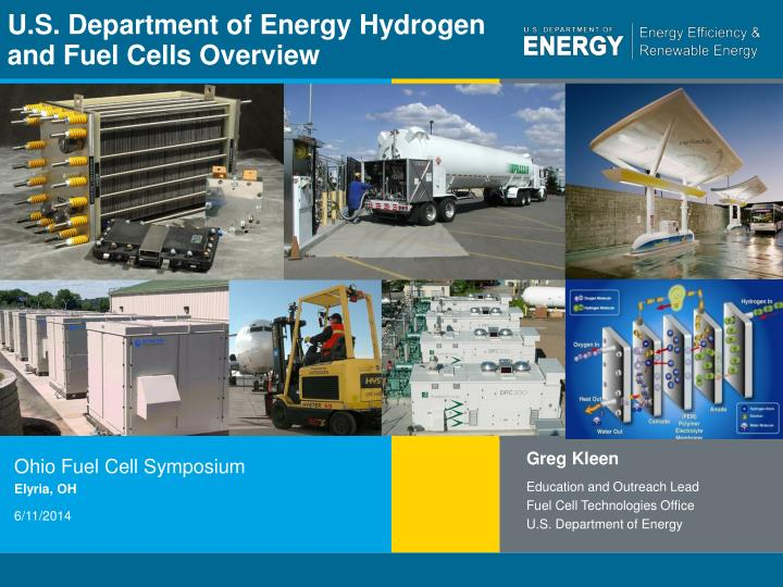 u s department of energy hydrogen and fuel cells overview n.
