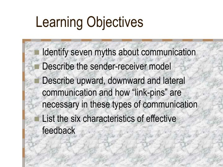 upward downward and lateral communication