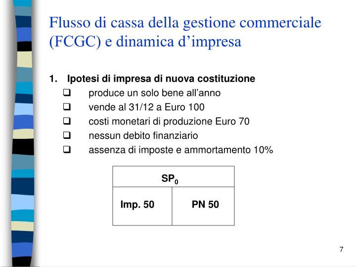 Flusso di cassa della gestione commerciale (FCGC) e dinamica d'impresa
