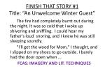 finish that story 1 title an unwelcome winter guest