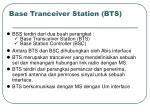 base tranceiver station bts