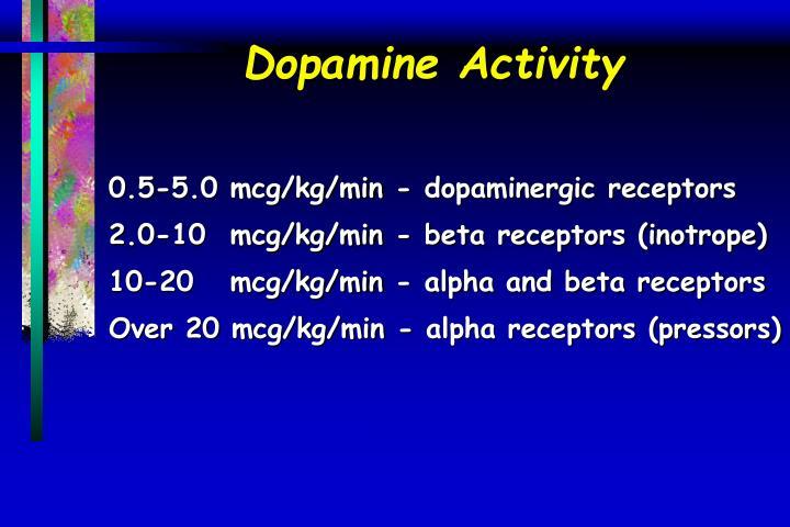 Dopamine Activity