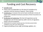 funding and cost recovery2