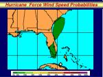 hurricane force wind speed probabilities