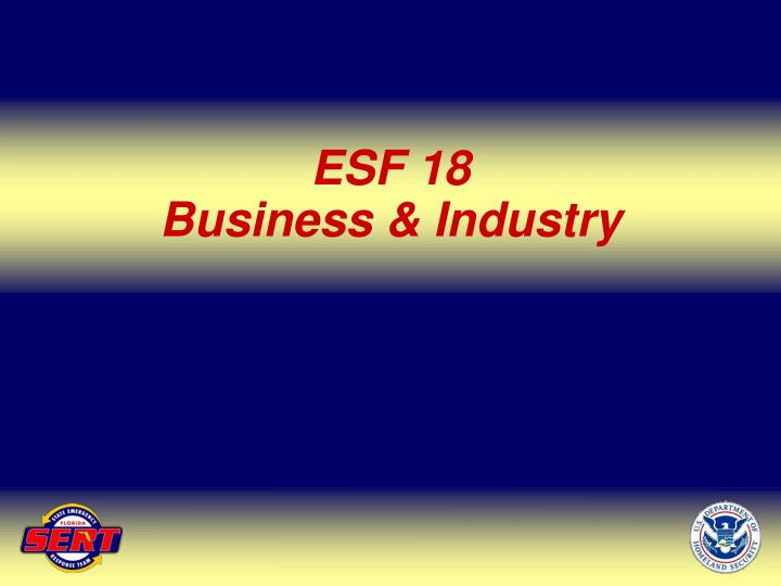 ESF 18